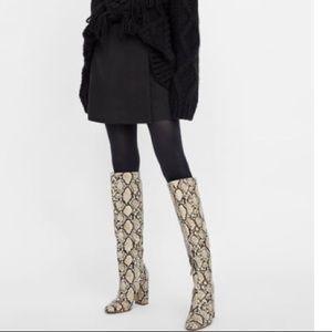 Zara Crossed Mini Skirt - NWT - M